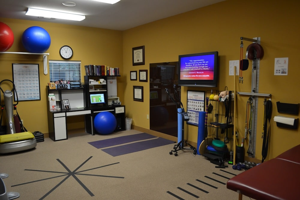 Image of the Physical Therapy Room at Freedom Health Centers of McKinney Texas