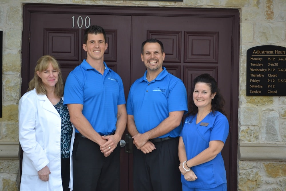 Image of Staff at the Freedom Health Centers of McKinney Texas Outside of their Building