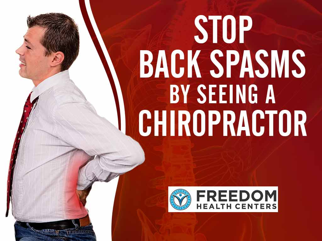 Stop back spasms by seeing a chiropractor